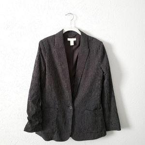 H&M Pinstripe Blazer size 4